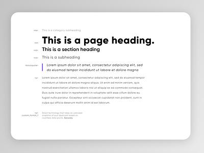 Typography Interface Mockup gilroy type typography minimalist flat user experience minimal branding app ux ui interface design adobe xd