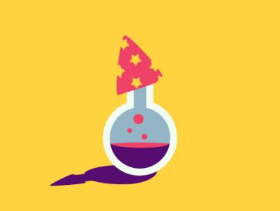 The Alchemist illustration icon design potion potions