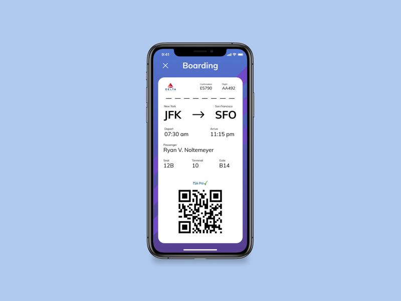 Boarding Pass travel flight boarding pass web design ui ux dailyui