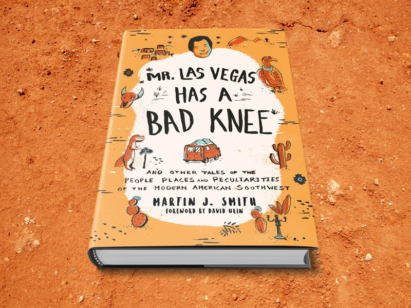 Mr. Las Vegas Has A Bad Knee bookcoverdesign lasvegas novel design bookdesign bookcover
