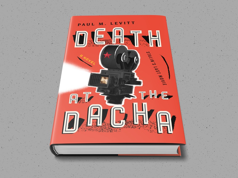 Death At The Dacha mystery novel death russian design bookdesign bookcover