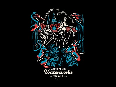 Waterworks Trail Annapolis Shirt