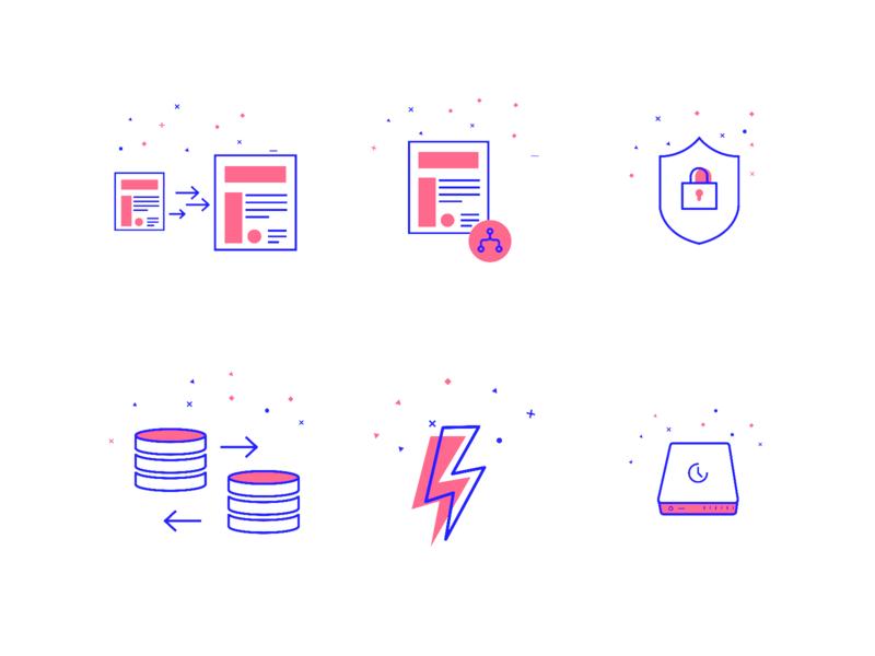 Line Icons icon-set line-icon app icon app vector branding ui icon illustration