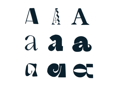 A a 36daysoftype hand drawn hand lettering handlettering lettering letter
