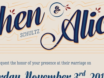 Wedding invites calligraphy invitation invite wedding