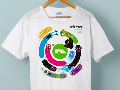 Railsware T-Shirt White
