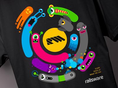 Railsware T-Shirt Black