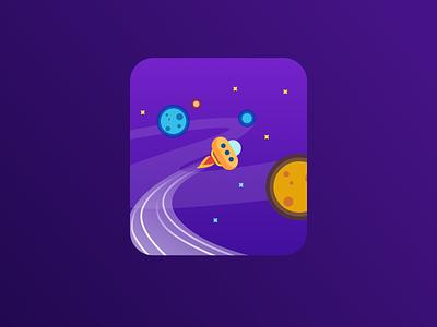 star flat illustration