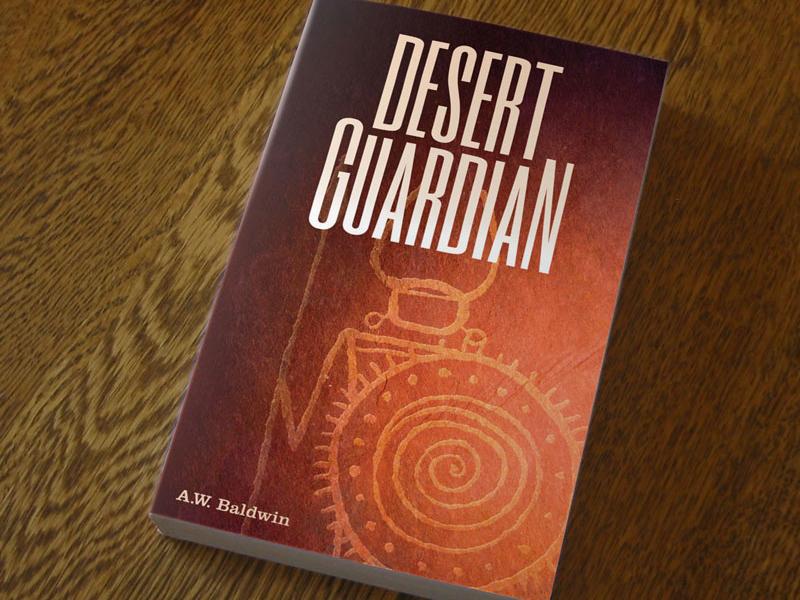 Desert Guardian Book Cover book cover graphic design illustration