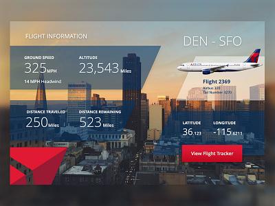 Delta Flight Info Redesign interface design graphic design design ux ui