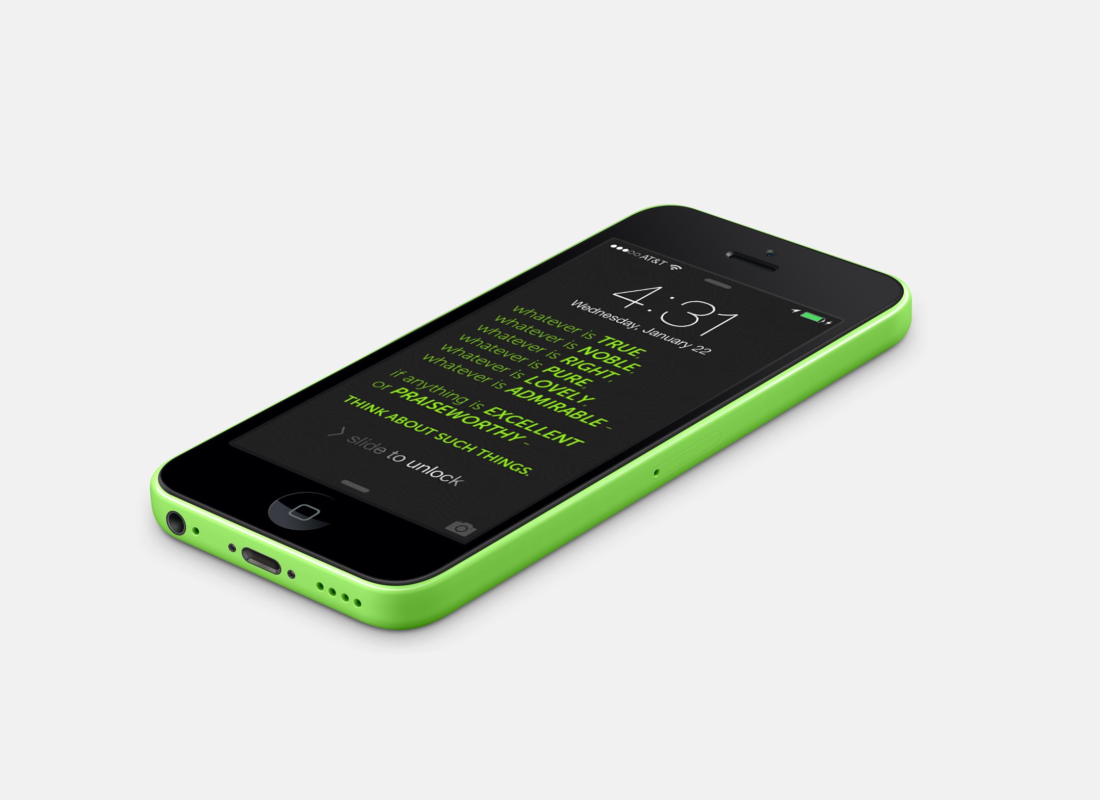 Scriptures 1 green phone