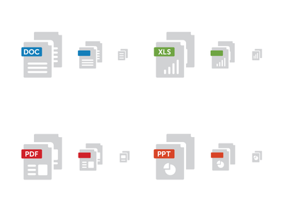 Simple File Icons icons file type