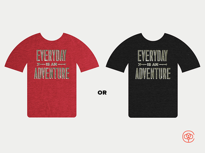 Cotton Bureau Color Choice tshirt adventure cotton bureau