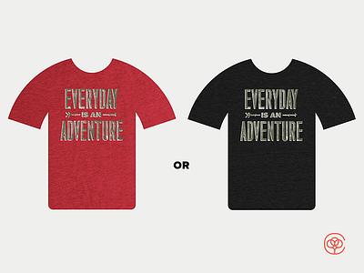 Cotton Bureau Color Choice tshirt adventure cotton bureau