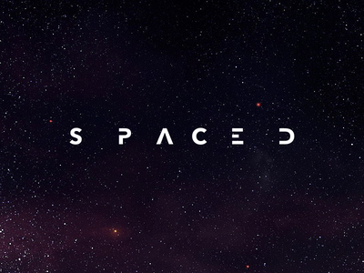 SPACED logo space travel when i look at the stars mars venus moon space spacedchallenge logo