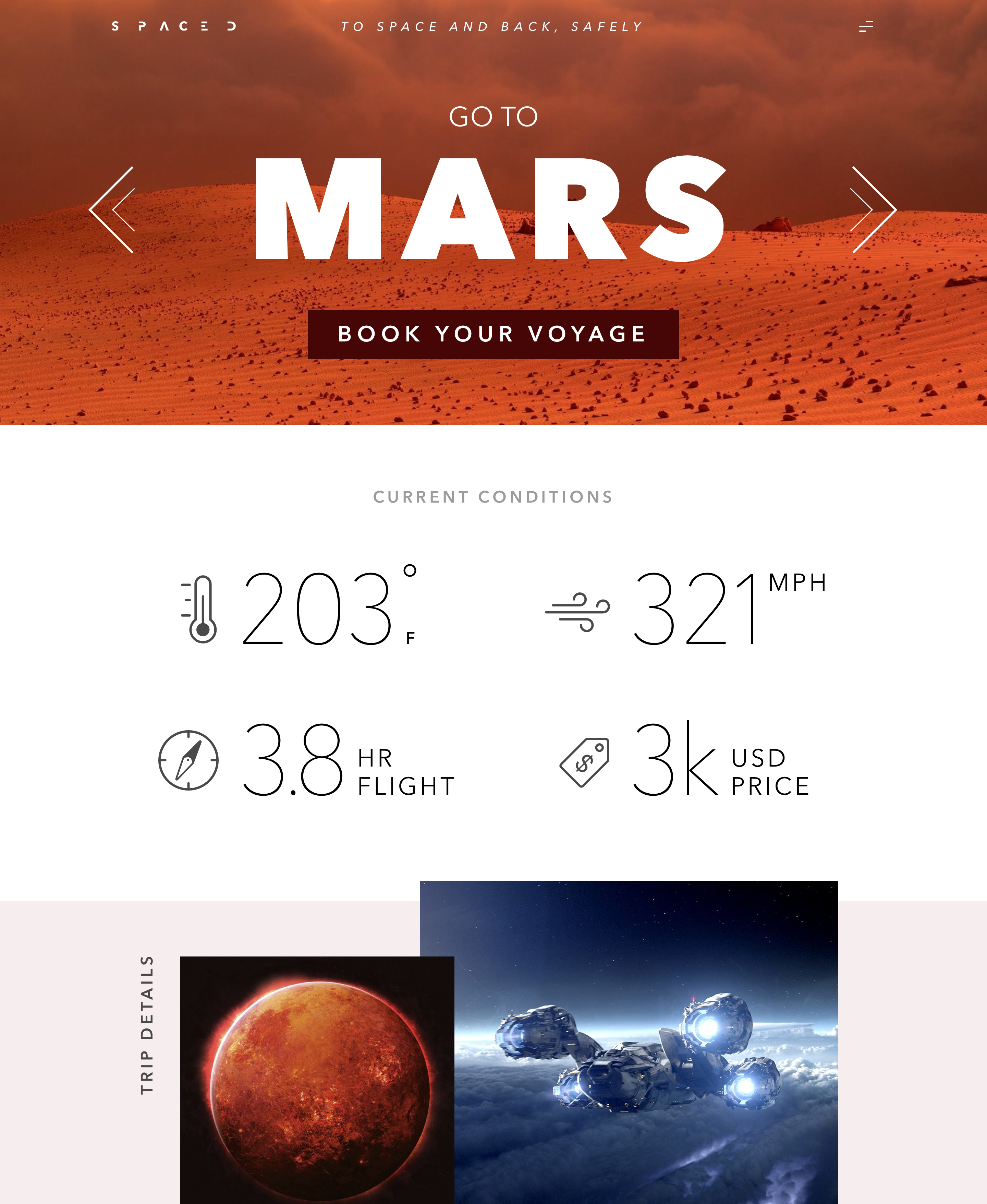 Spaced mars 2x