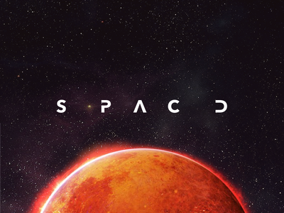 Simplified #SPACEDchallenge logo space logo mars spacedchallenge simplify