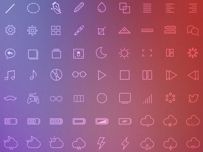 Linicons  linicons icon set web icons graphicdesign vectors