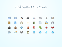 Colored Minicons Release
