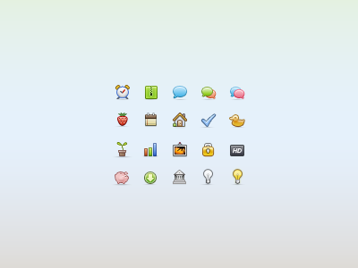 20 icons for the free update pack [WIP] mini icons colored minicons 16px pixels 16