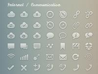 Simplicons Set - Internet / Communication