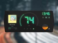 Daily UI #034 - Car Interface