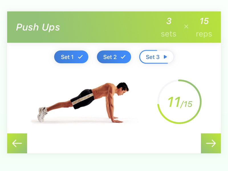 daily ui 062 workout of the day by dicky dribbble dribbble