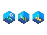 Isometric IT Illustrations