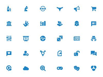 Censorship Category Icons test ooni category icons censorship