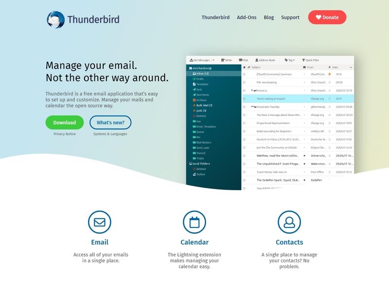 Thunderbird dribbble
