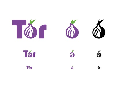 Tor New Onion & Logo Explorations logo icon browser onion tor