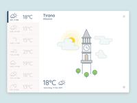 Weather App UI Exploration