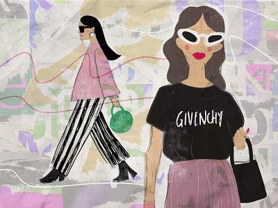 Fashion Illustration fashion brand brands fashion fashion illustration south africa illustrator illustration female illustrator