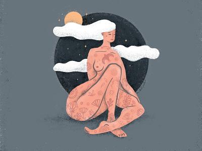 Wild, free and full of magic digital painting digitalart art digital illustration south africa female illustrator illustration