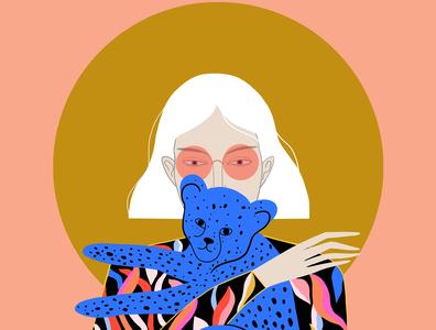 Rare Jungle Fruits, personal illustration app character photoshop animalart pattern sashaignatiadou illustration art illustration art