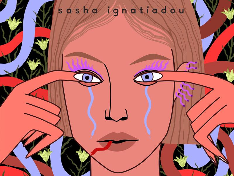 DANGER.Personal illustration. app website web pattern character design branding sashaignatiadou illustration art