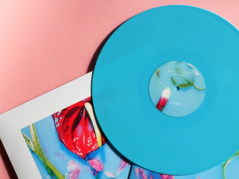 Album Vinyl Design musician bands synthpop colour palette photography floral vinyl wrap cd packaging cd artwork cd design cd cover vinyl record vinyl cover vinyl packaging graphic design