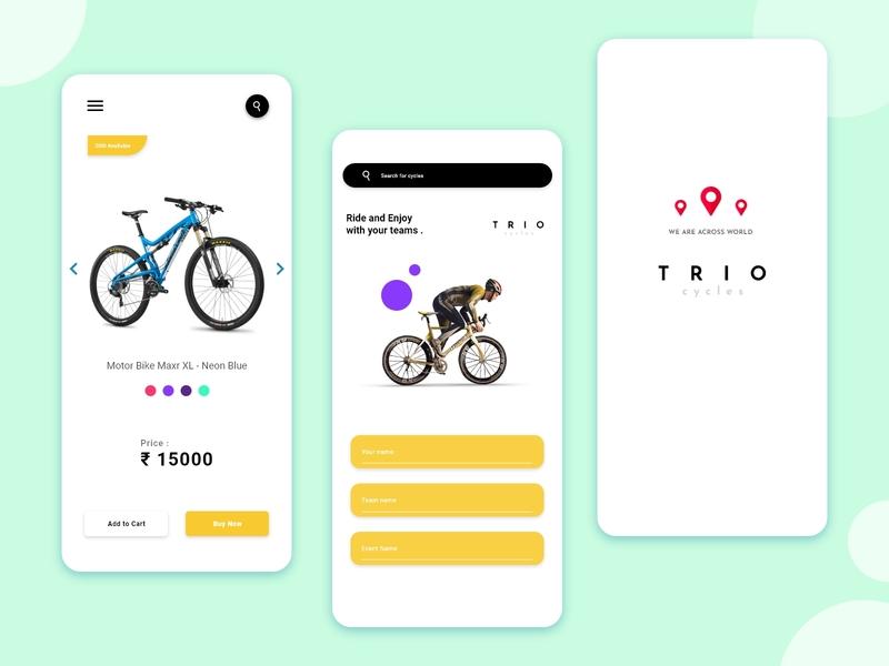 Bikes Selling App Concept ecommerce business ecommerce design ecommerce shop ecommerce app app ui app design company ux research uidesign uiux ui concept bikes ui
