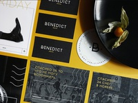 Identity for Benedict Daily Bar
