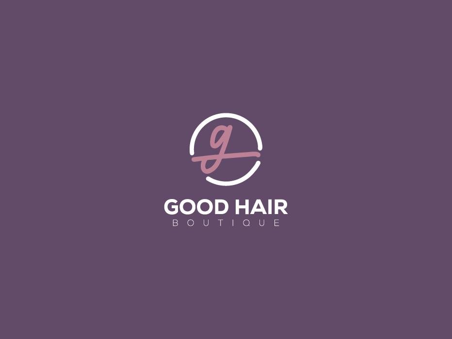 Good Hair Boutique - Rebranding brand branding logo fashion minimal femme luxury classy symbol boutique logo rebranding boutique hair