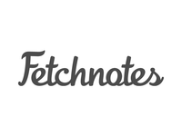 Fetchnotes logotype