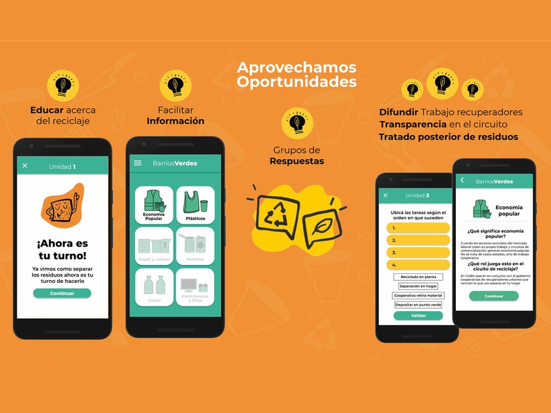 UI App Barrios Verdes branding buenos aires argentina ui illustrator illustration graphicdesign diseño gráfico alanahaffar ahilustraciones