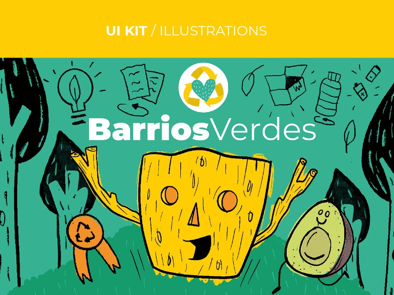 UI KIT / ILLUSTRATION characterdesign buenos aires argentina illustration ui illustrator graphicdesign diseño gráfico alanahaffar ahilustraciones