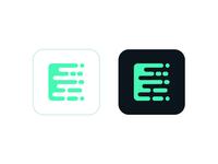 E code icon
