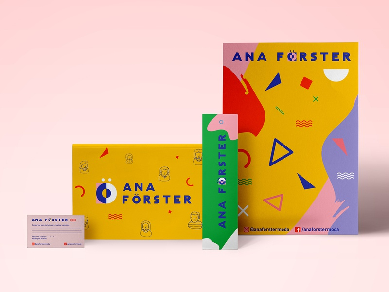 Branding print design packaging identity graphic design fashion branding