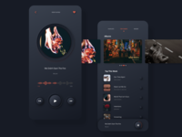 Skeumorphic Music Player music player music app minimalist appdesign neumorphic skeumorphic uiux dailyui musicplayer sketchapp sketch