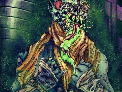 Cyber Goblin commision photoshop sketchbookpro illustraion