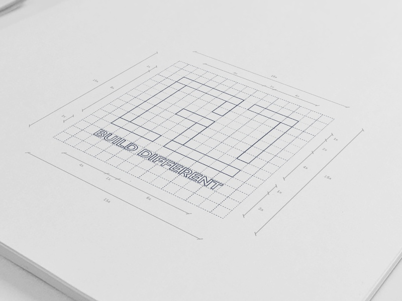 BD Sketch architecture logomark logotype mmockup illustartor design branding construction graphicdesign logo