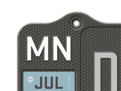 MN Plate