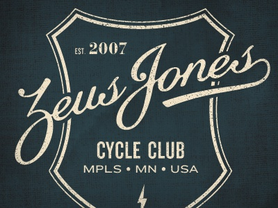 Zeus Jones Cycle Club